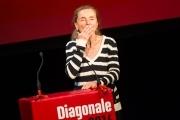 Erni Mangold bei der Preisverleihung Diagonale 2014