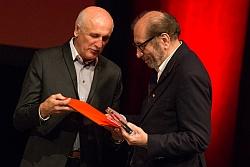 Houchang Allahyari bei der Preisverleihung Diagonale 2014